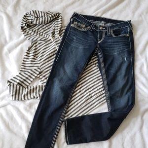 True Religion Skinny Basic Big T jeans